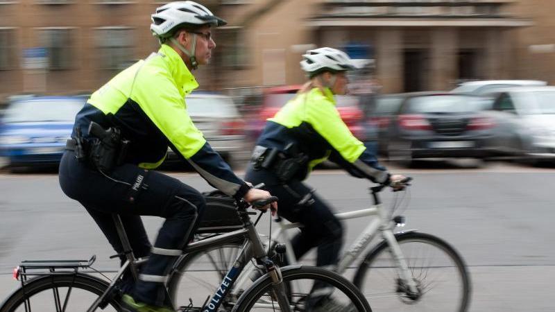Fahrradstaffel der Berliner Polizei