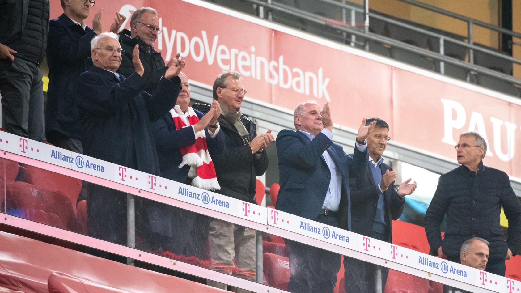 Die Führungsriege der Bayern