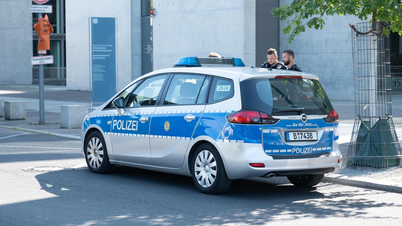 Verdächtiges Paket in Poststelle des Bundestags entdeckt