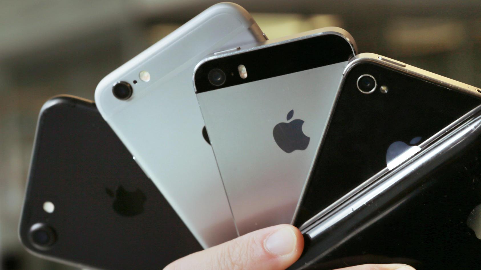 Wofür ist der  schwarze Punkt am iPhone gut?