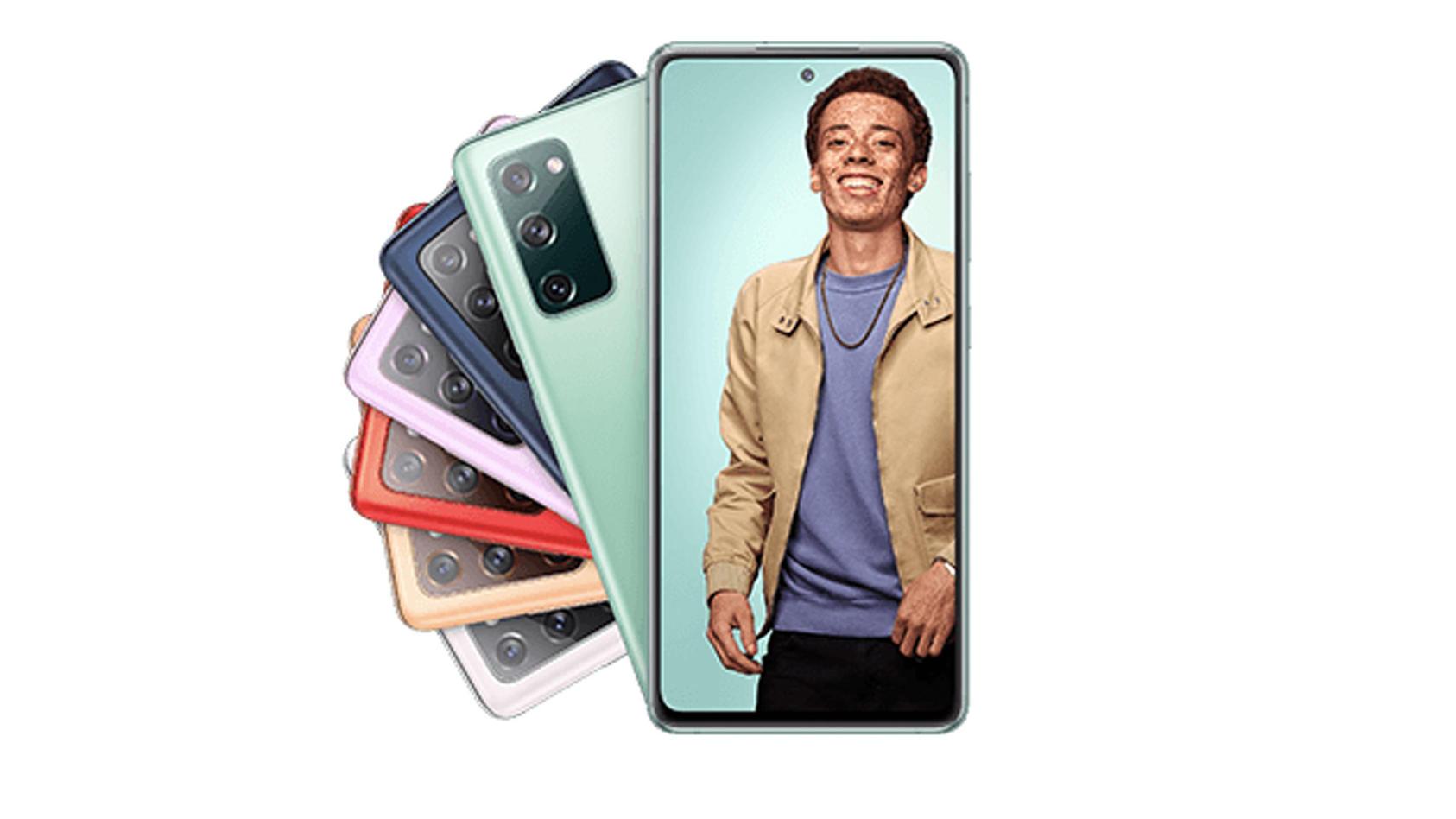 Das Samsung Galaxy S20 FE ist in unterschiedlichen Farben zu haben.