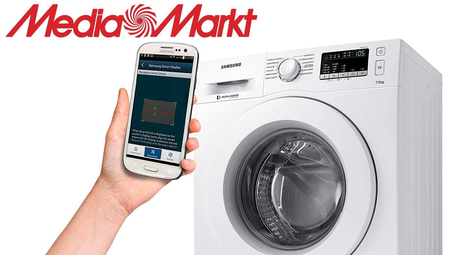 Media Markt hat derzeit einen Waschmaschine von Samsung im Angebot.