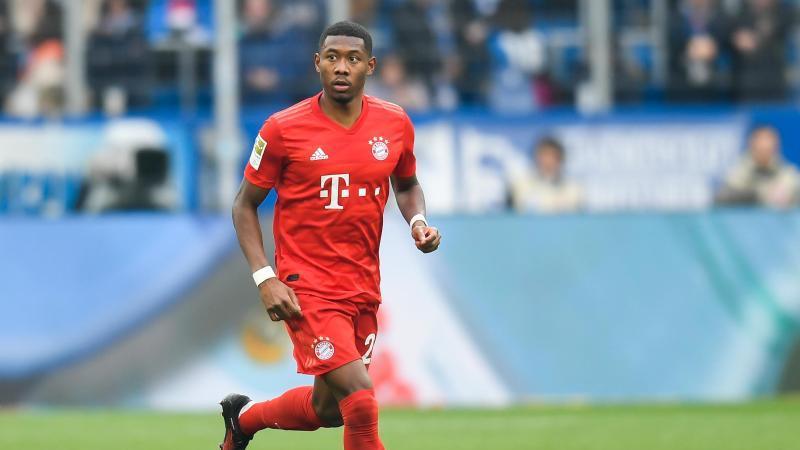 Der FCBayern München setzt im Supercup auf David Alaba. Foto: Tom Weller/dpa