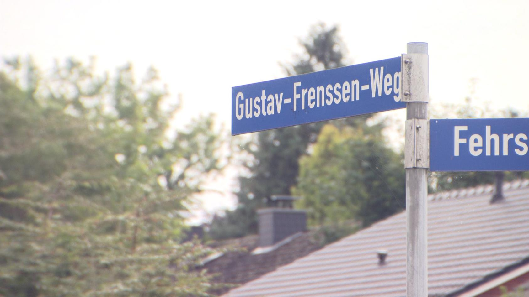 Der Gustav-Frenssen-Weg in Bad Segeberg