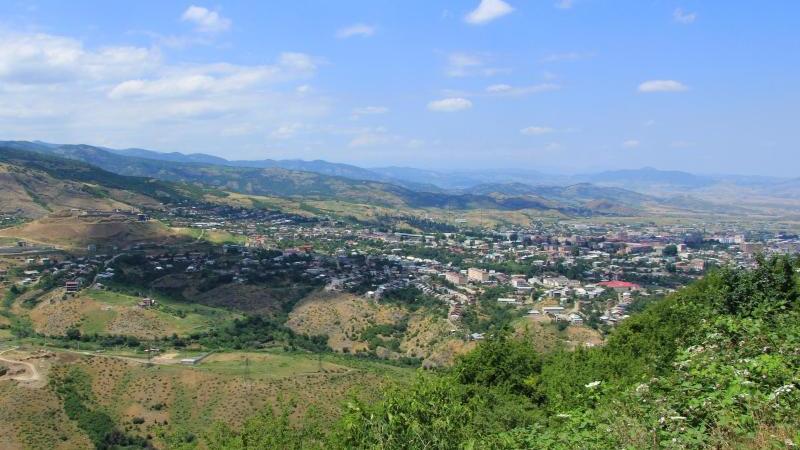 Gebietshauptstadt Stepanakert in Berg-Karabach
