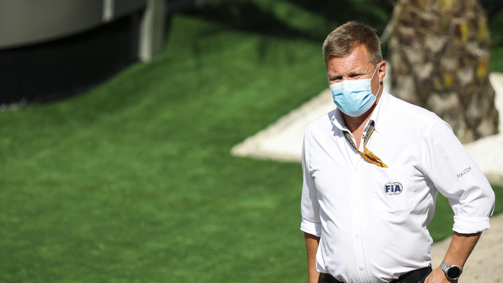 Formel-1-Steward beim Großen Preis in Sotschi: der Finne Mika Salo