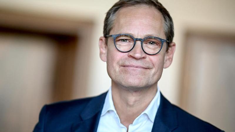Michael Müller, Berlins Regierender Bürgermeister. Foto: Britta Pedersen/dpa-Zentralbild/dpa