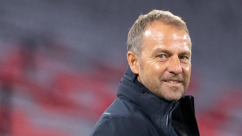 Trainer Hansi Flick vom FC Bayern München. Foto: Matthias Balk/dpa/Archivbild