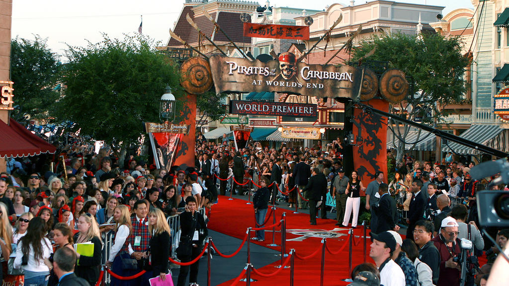 Atmosphere at the World Premiere of Walt Disney's 'Pirates of the Caribbean: At World's End' at Disneyland Anaheim, CA, USA on May 19, 2007. Proceeds from the premiere will benefit the Make-A-Wish Foundation of America and Make-A-Wish International.