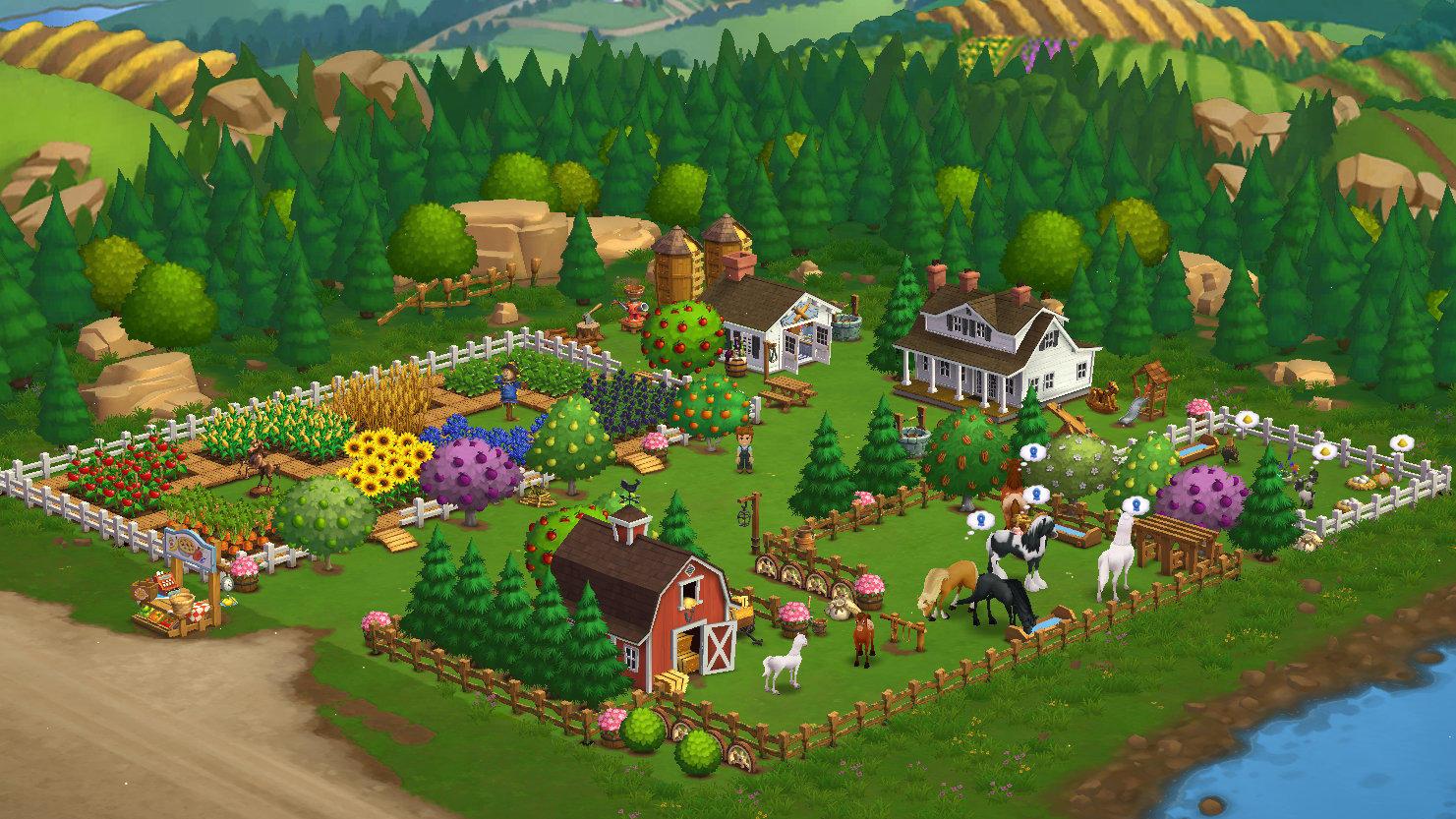 Farmville erfreute sich vor allem 2009 äußerster Beliebtheit auf Facebook.