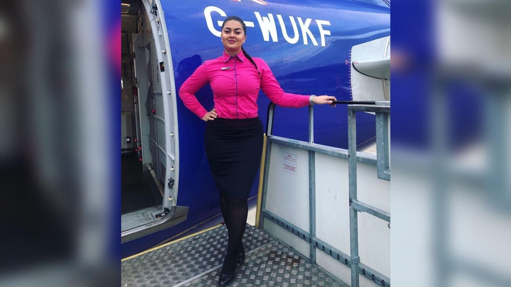Alexandra Dobre, eine ehemalige Stewardess, ist wegen Drogenhandels verhaftet worden.