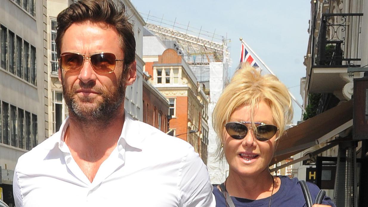 Hugh Jackman und seine Frau Deborah-Lee Furness.