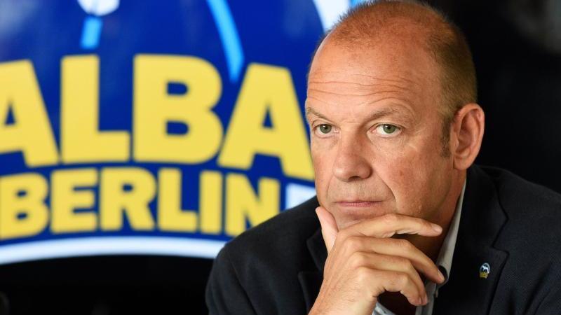 ALBA-Geschäftsführer Marco Baldi. Foto: Rainer Jensen/dpa/Archivbild