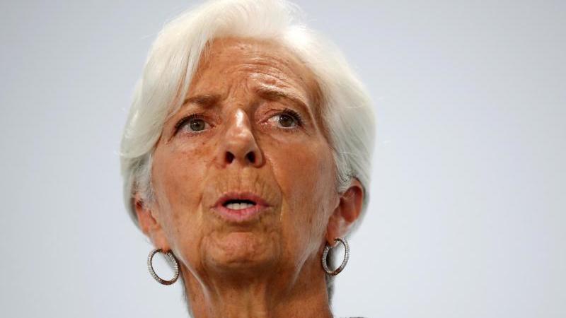 EZB-Chefin Christine Lagarde plädiert für ein verständliches Inflationsziel. Foto: Hannibal Hanschke/REUTERS/POOL/dpa