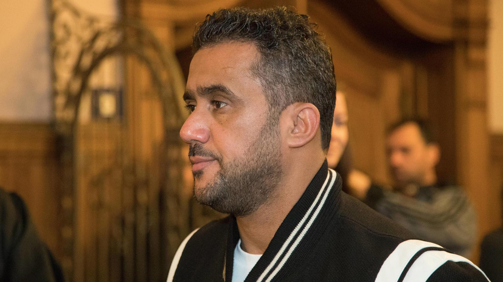 Der Angeklagte Arafat Abou Chaker