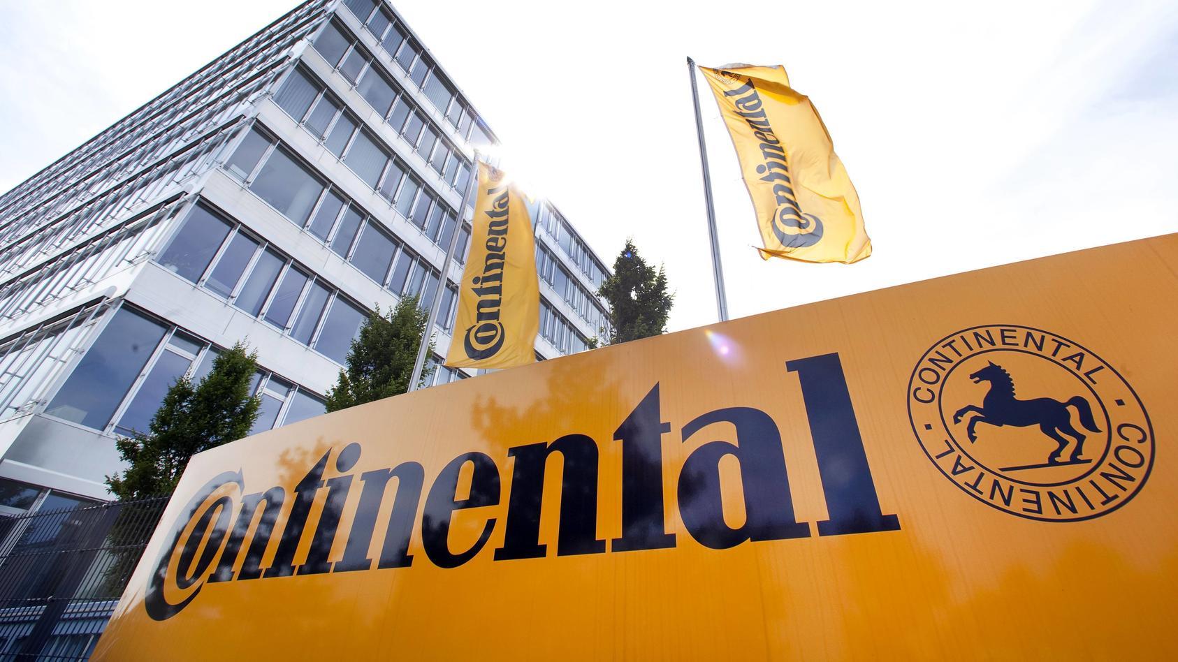 Zentrale der Continental Automotive GmbH in Regensburg, Bayern,