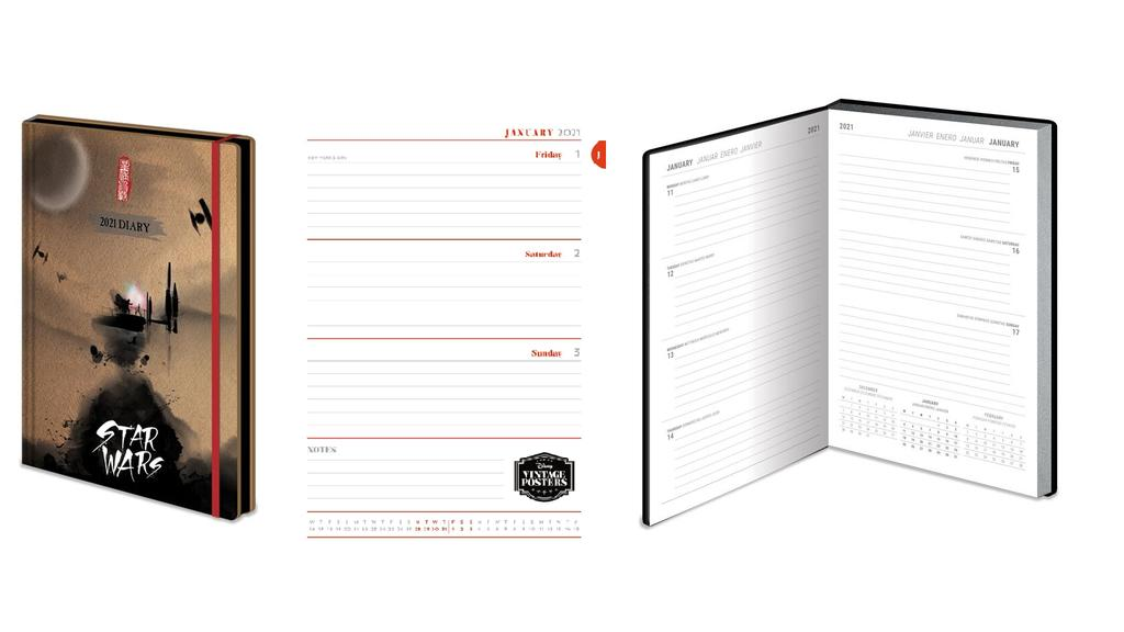 Kalender im Merch-Design