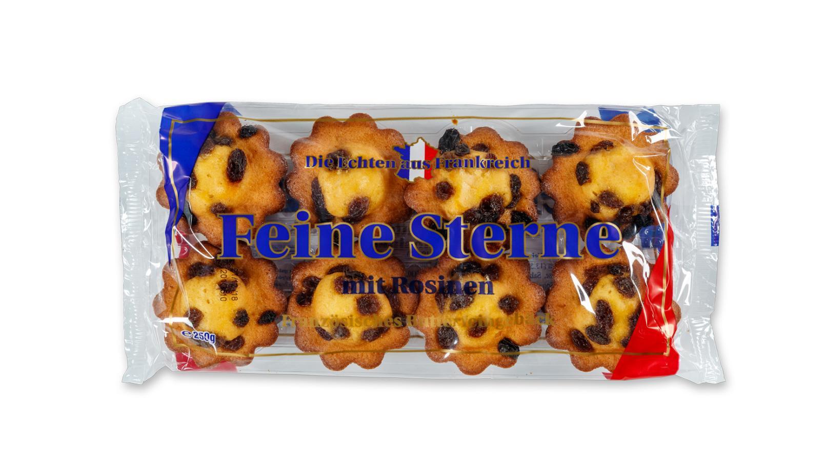 """PICO Food ruft bestimmte Gebäckartikel """"Feine Sterne"""" zurück."""