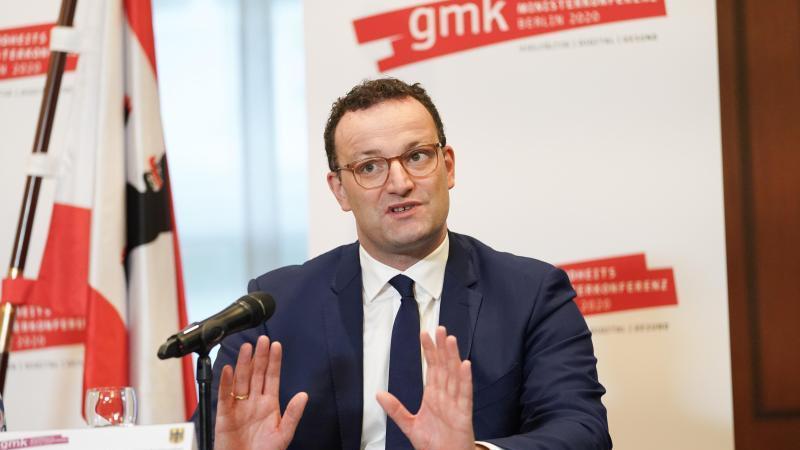 Jens Spahn (CDU), Bundesgesundheitsminister. Foto: Jörg Carstensen/dpa/Archivbild