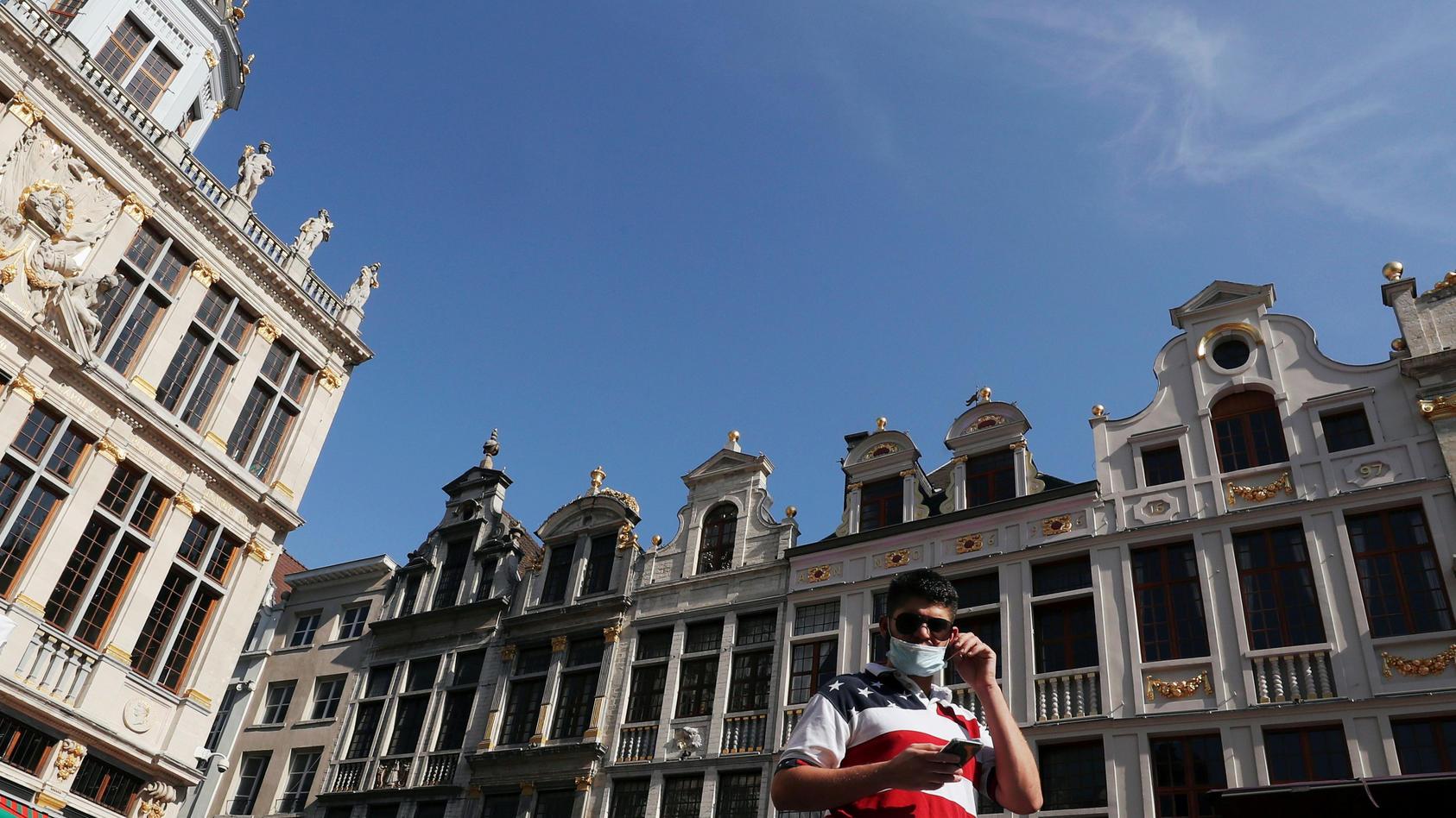 Passant in Brüssel.