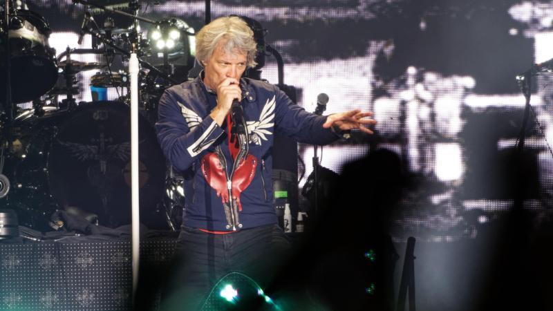 Bon Jovi sind ernster geworden. Foto: Henning Kaiser/dpa