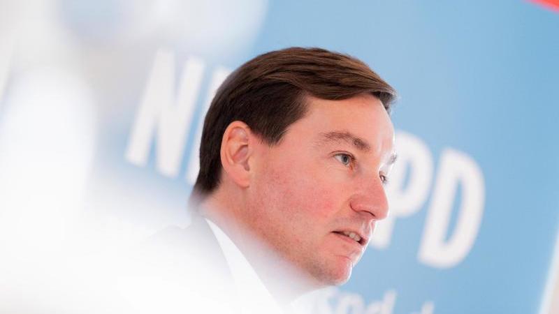 Sebastian Hartmann, Vorsitzender der nordrhein-westfälischen SPD. Foto: Rolf Vennenbernd/dpa