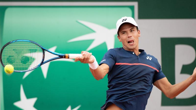 Daniel Altmaier hat bei den French Open auch Jan-Lennard Struff besiegt. Foto: Benoit Doppagne/BELGA/dpa