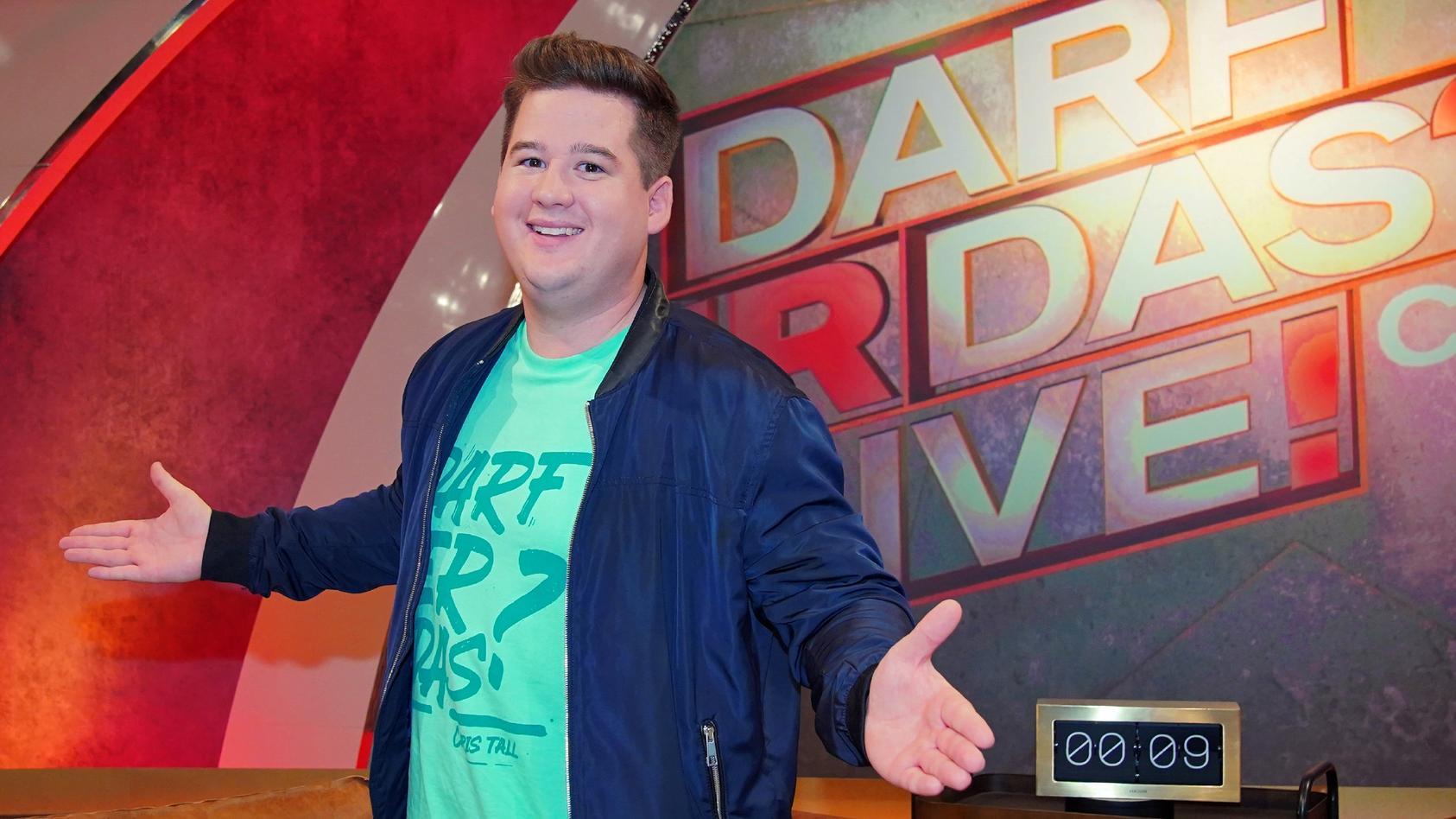 """Endlich geht's wieder los: Die vierte Staffel """"Darf er das? - Die Chris Tall Show"""" geht an den Start"""