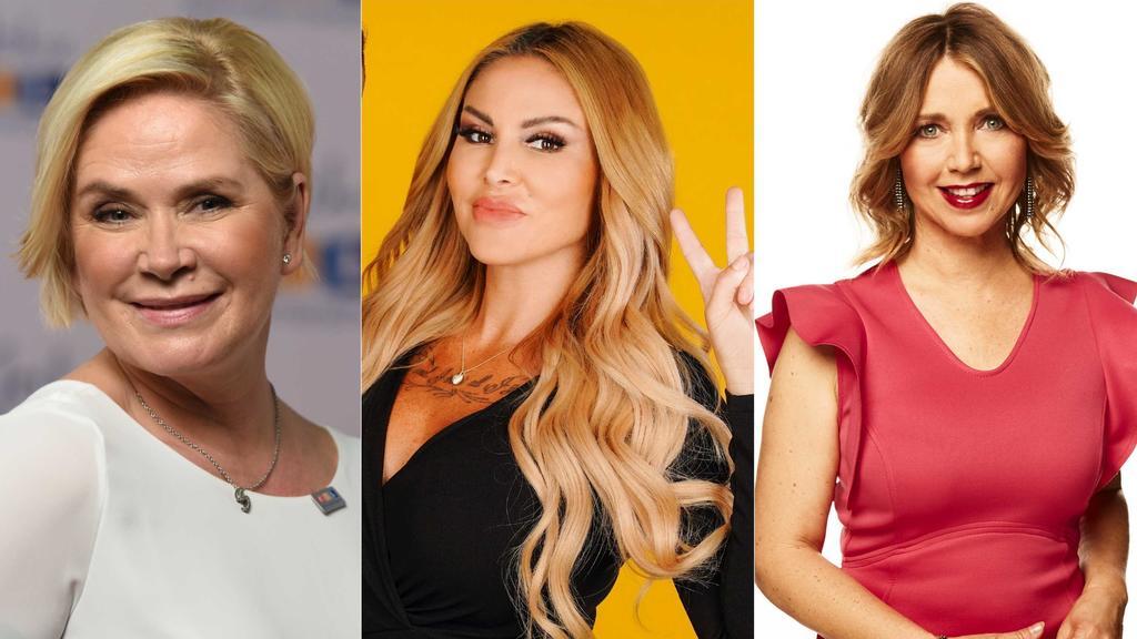 Claudia Effenberg, Lisha und Tina Ruland werden als Dschungelcamp-Kandidaten 2021 gehandelt.