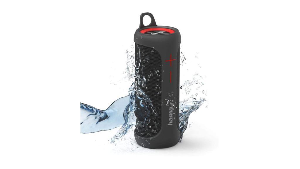 Wasserdichter Bluetooth-Lautsprecher von Hama im Angebot bei Amazon