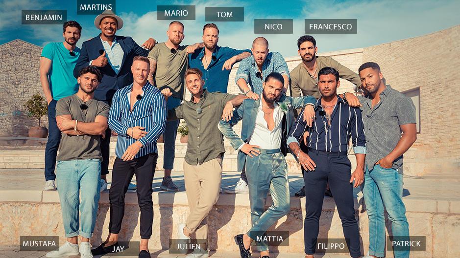 Diese 12 Jungs wollen die vergebenen Promi-Damen um den Finger wickeln.