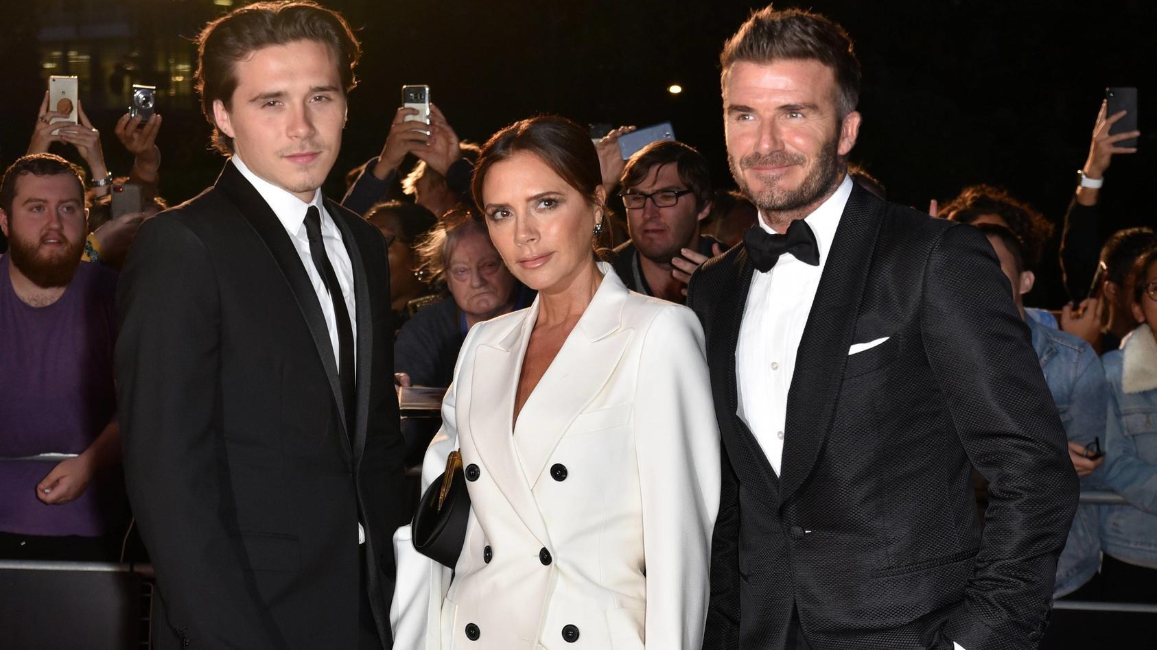 Victoria und David Beckham wollen sich die Hochzeit von Sohn Brooklyn was kosten lassen.