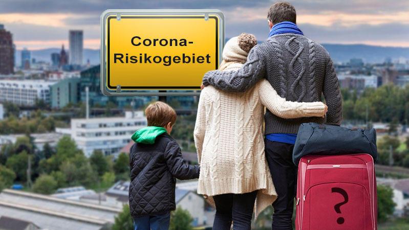 Wer im Risikogebiet wohnt, hat es aktuell schwer, in Urlaub zu fahren - selbst innerhalb Deutschlands. Unmöglich ist es aber nicht.