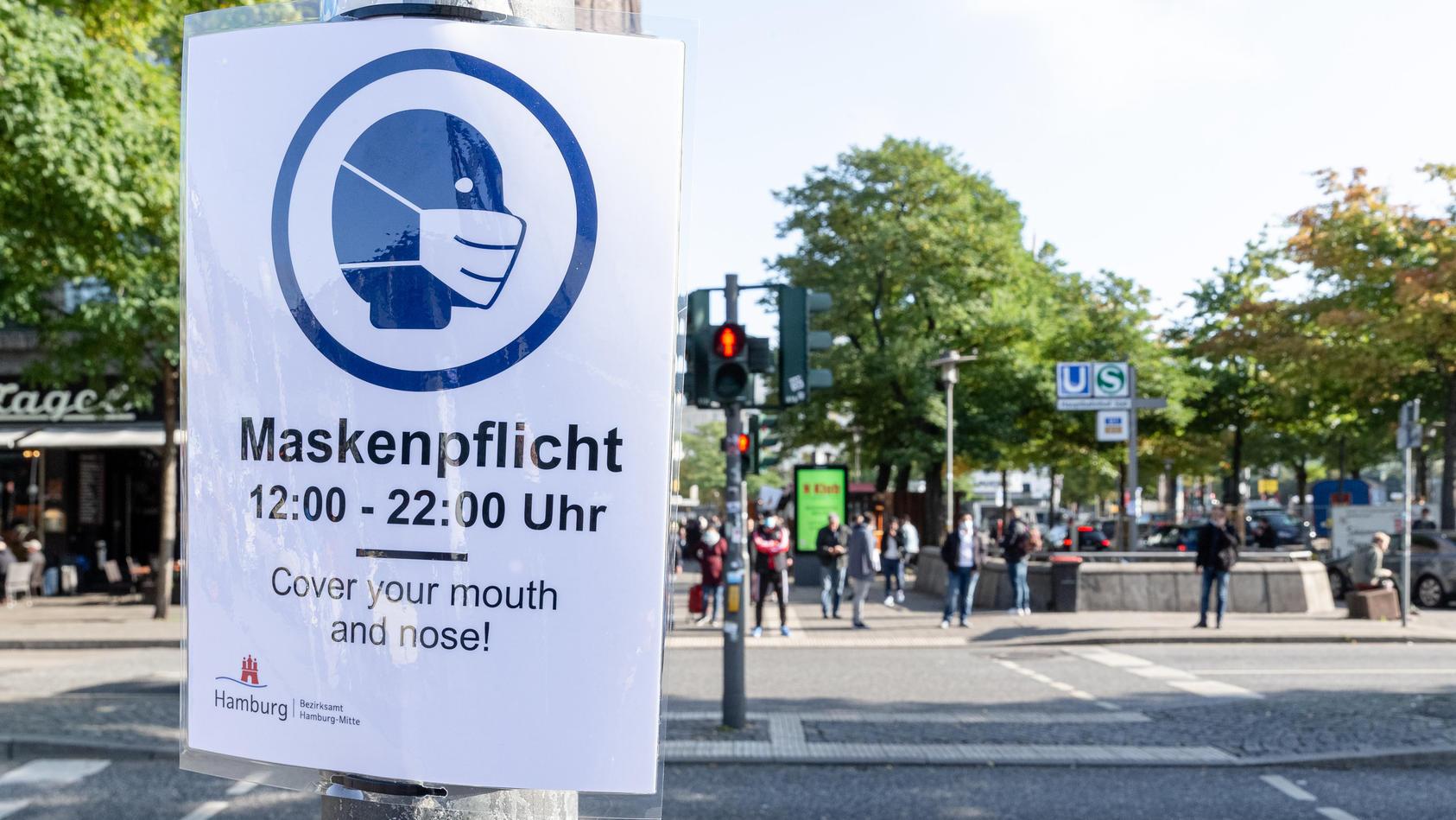 Verschärfte Maskenpflicht in Hamburg