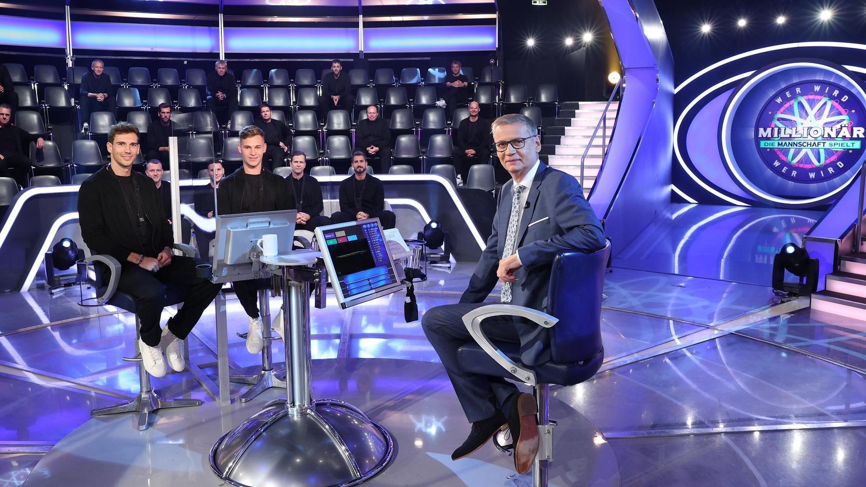 Fußball-Nationalspieler bei RTL-Quiz-Show «Wer wird Millionär?»