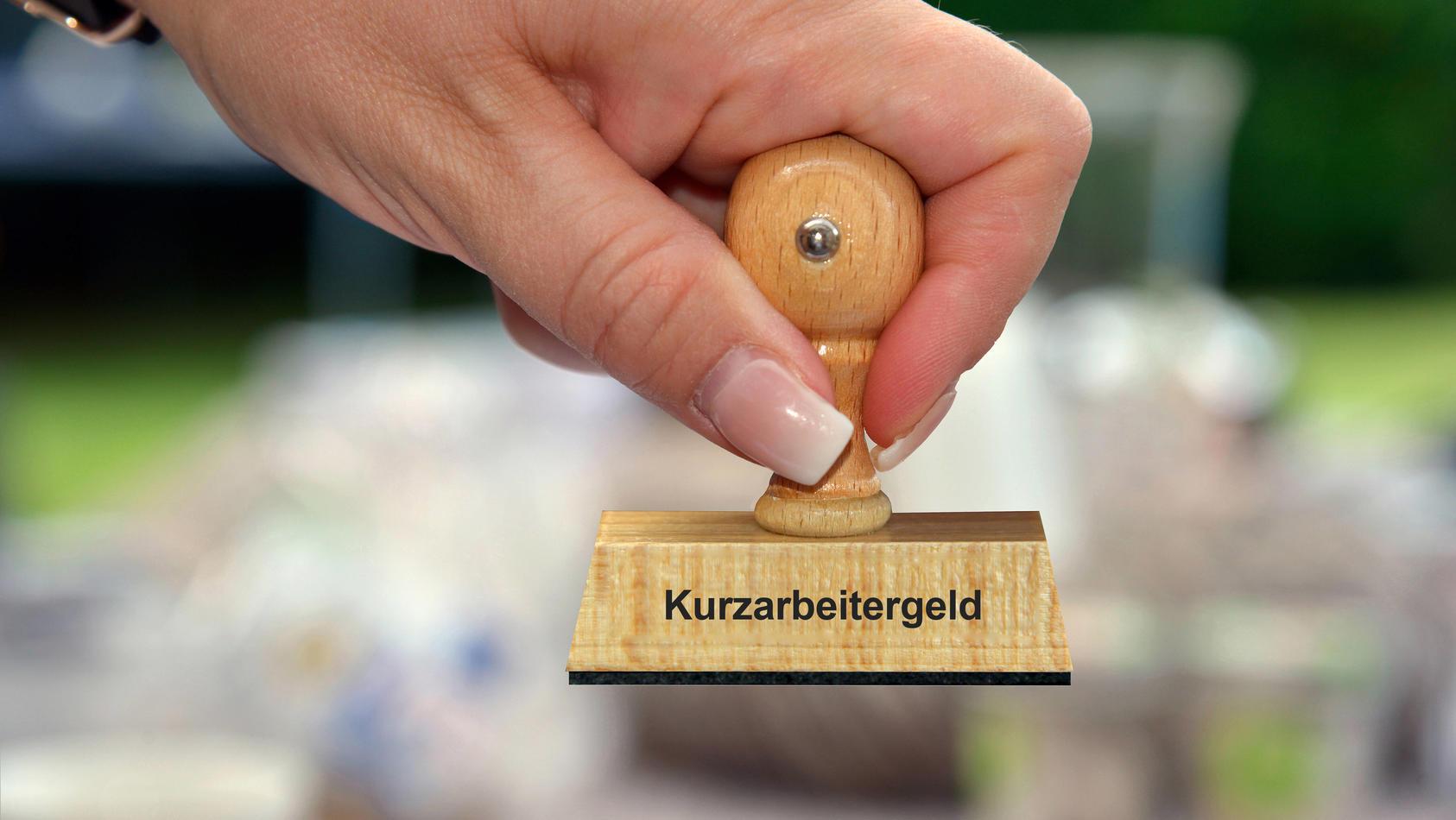 In Bayern gibt es die meisten Arbeitnehmer in Kurzarbeit.