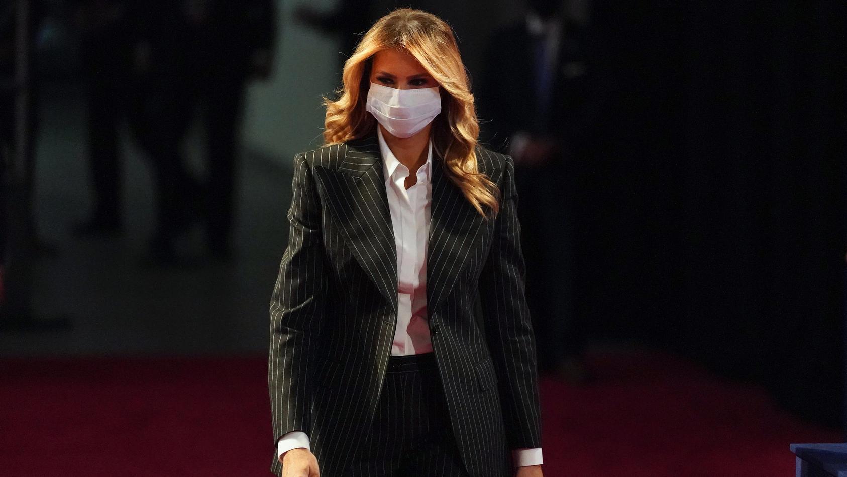 Melania Trump schildert Corona-Infektion