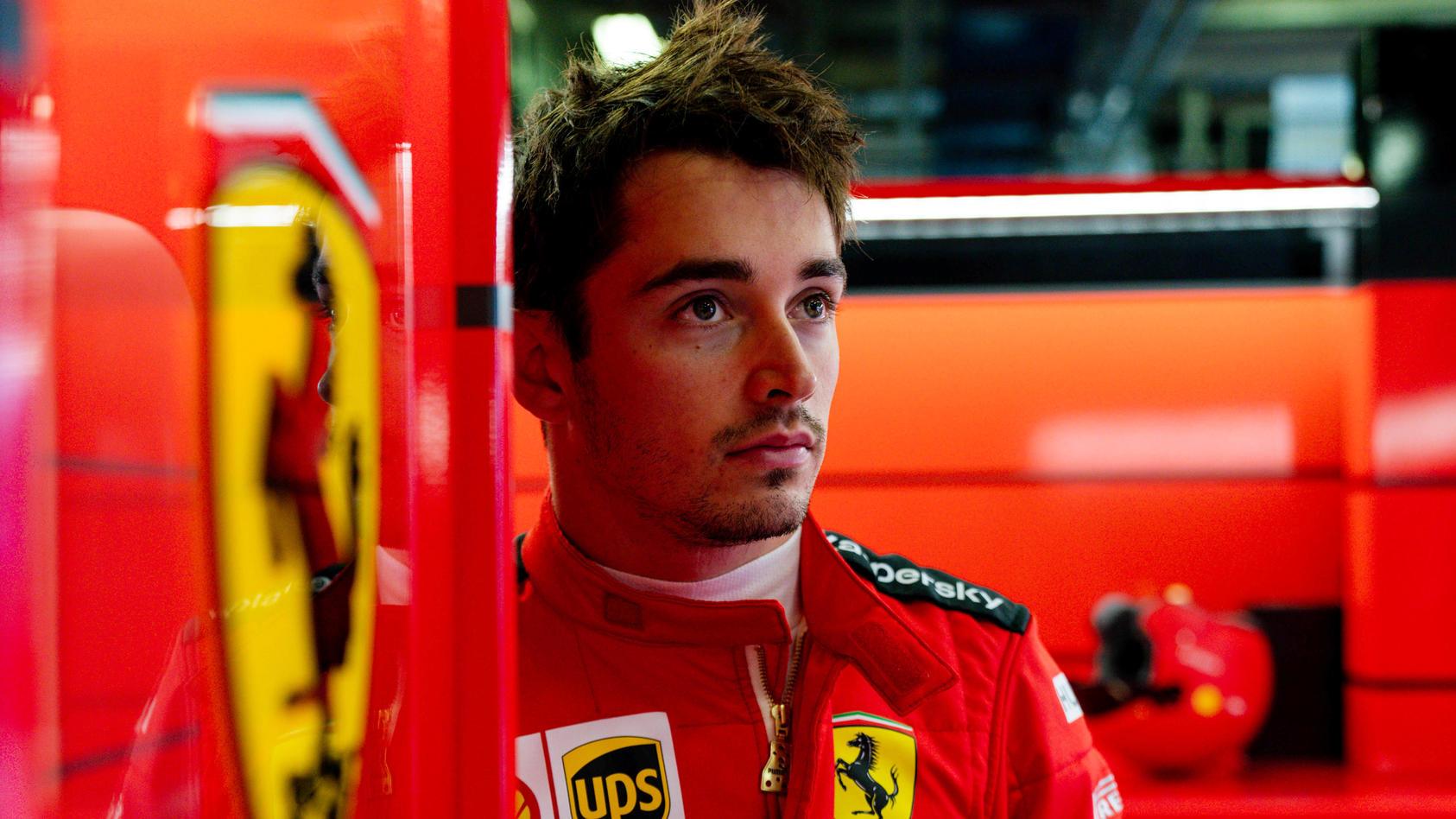 Blickt  schon jetzt in ein ungewisses Jahr 2021: Ferrari-Pilot Charles Leclerc