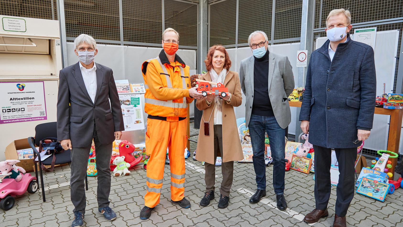Stadtreinigung startet Sammlung von gebrauchtem Spielzeug