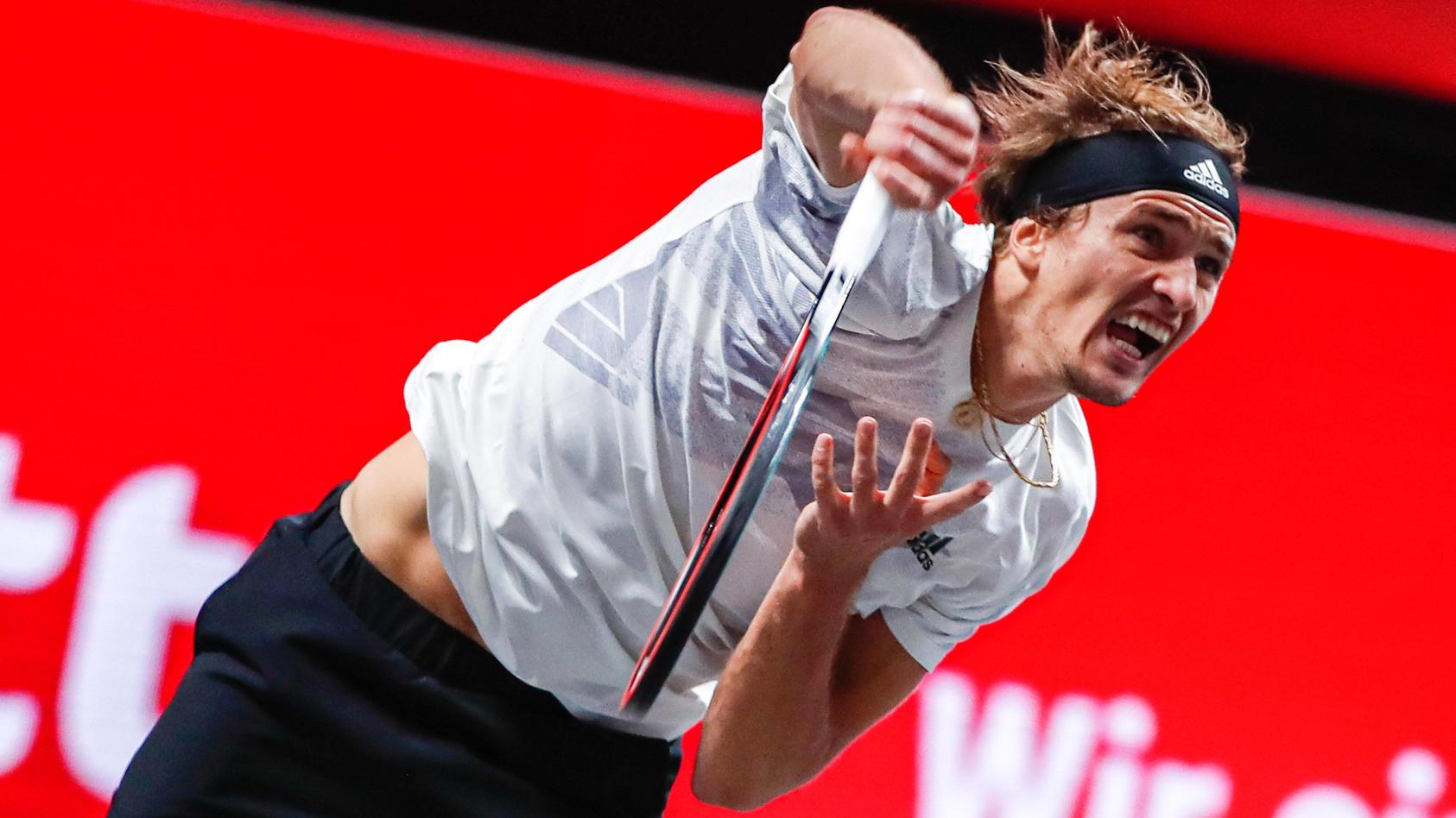 Sport Bilder des Tages ZVEREV, Alexander (GER) ATP, Tennis Herren Ranking No. 7, gesetzt an No. 1 bei den bett1HULKS Ind
