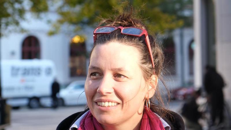 Die Magdeburger Wissenschaftlerin Franka Kretschmer. Foto: Franziska Höhnl/dpa-Zentralbild/dpa/Aktuell