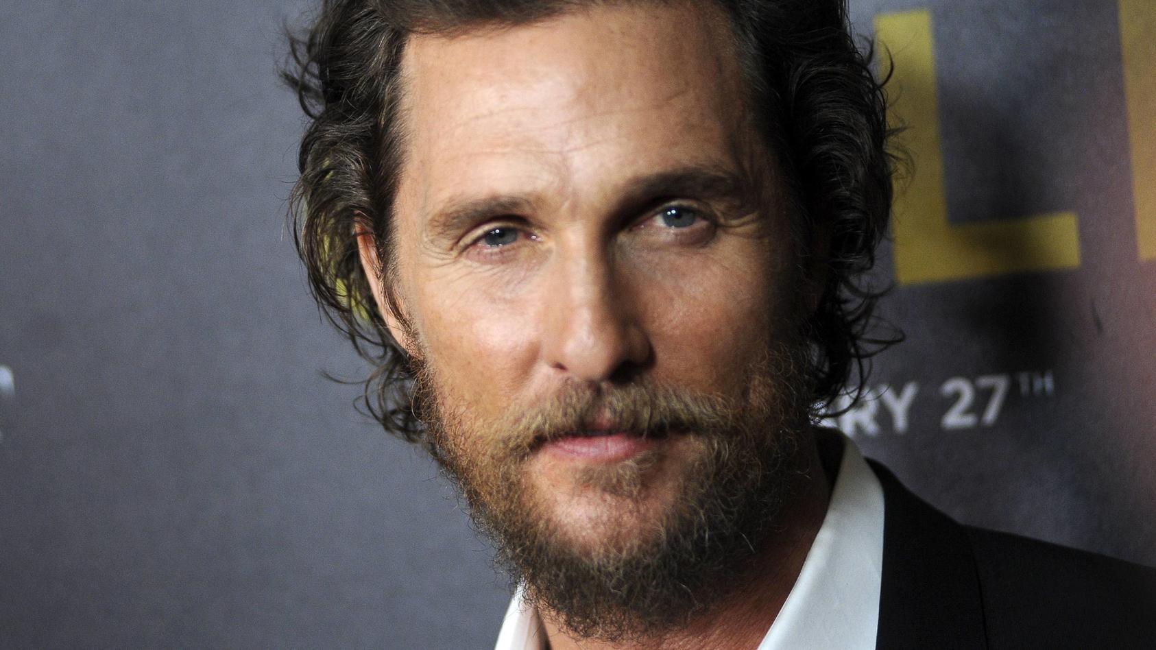 Matthew McConaughey wurde mit 15 zum Sex erpresst.
