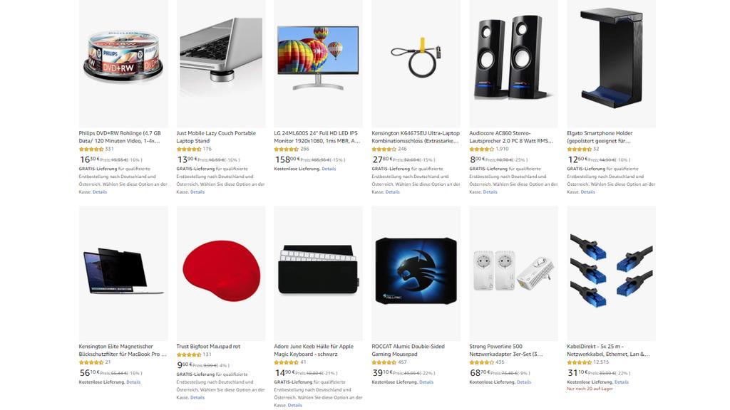 Amazon-Angebot: Diverses Computer-Zubehör