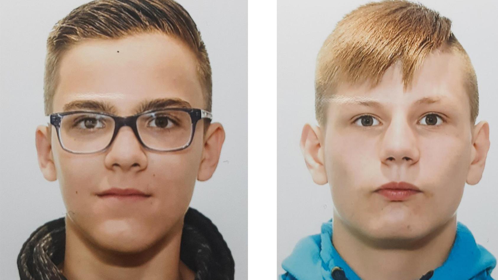 Leam und Nic Karl aus Solingen werden vermisst