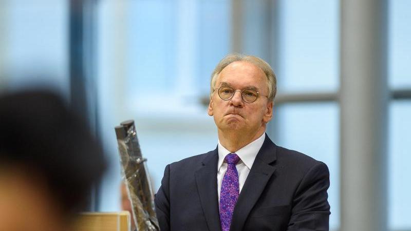 Reiner Haseloff (CDU), Ministerpräsident des Landes Sachsen-Anhalt, spricht. Foto: Klaus-Dietmar Gabbert/dpa-Zentralbild/ZB
