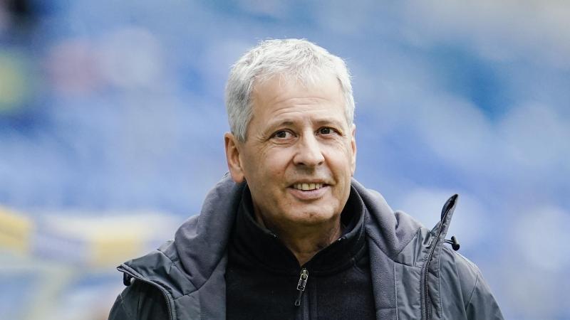 Muss mit Borussia Dortmund zum Königsklassenstart bei Lazio Rom ran: BVB-Coach Lucien Favre. Foto: Uwe Anspach/dpa