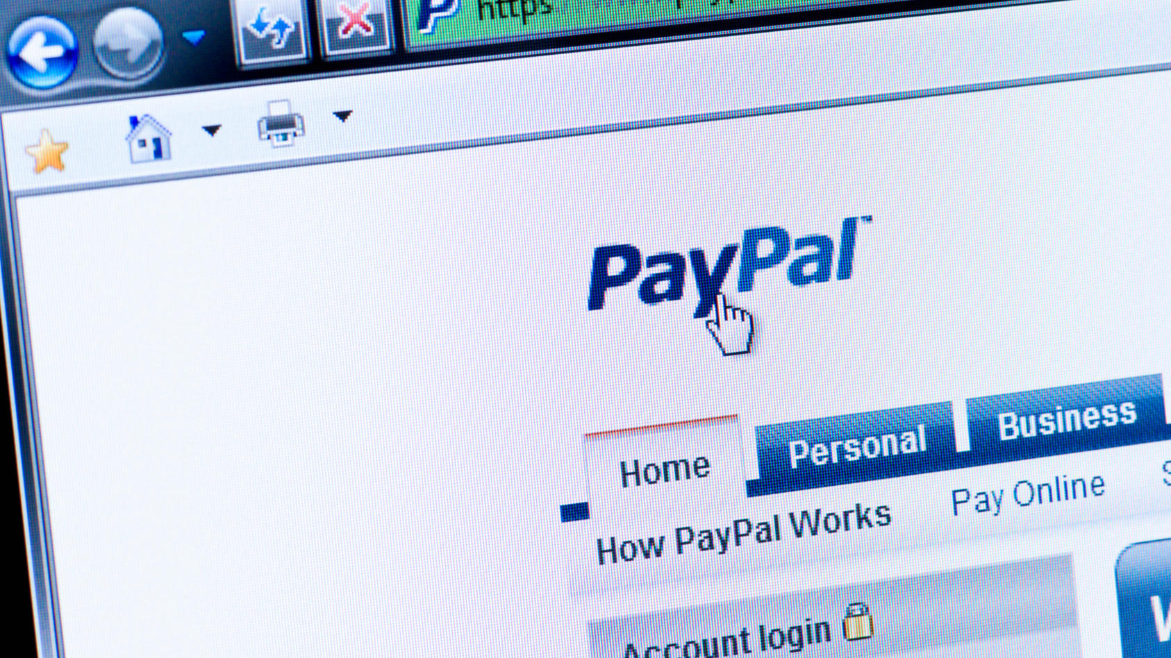 """Die Option """"Geld an Freunde senden"""" sollten Sie bei  Zahlen mit Paypal mit Bedacht auswählen."""