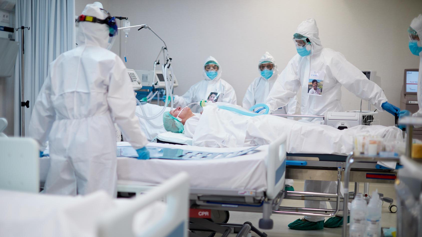 Der Online-Simulator berechnet die Entwicklung der Corona-Fall- und -Todeszahlen.