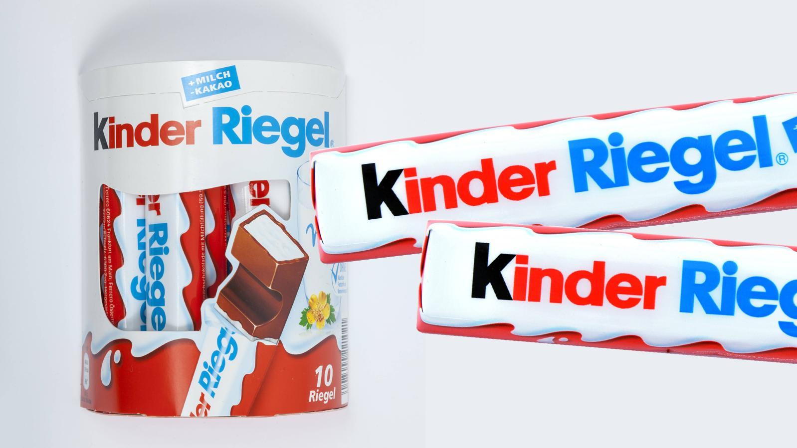 Dieser altbekannte Kinder-Riegel ist nicht der einzige im Süßigkeitenregal.