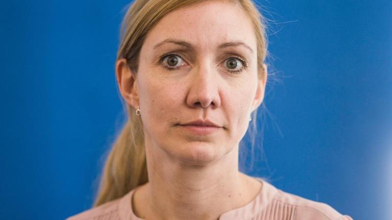 Sandra Ciesek, Direktorin des Instituts für Virologie der Universitätsklinik Frankfurt am Main. Foto: Frank Rumpenhorst/dpa/Archivbild